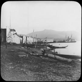 Alert Bay, 1893. Princess Louise at Wharf