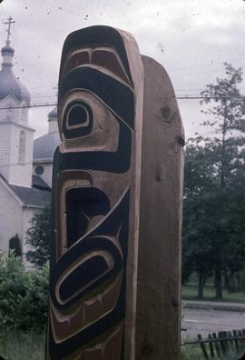 Mosquito Totem Pole, top rear view