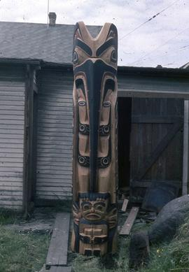 Mosquito Totem Pole, front view