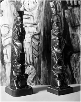 Argilite carvings, Claud Davidson