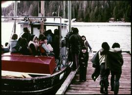 "The school boat, ""Betsy"""