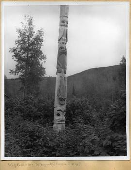 Skeena Crossing totem pole