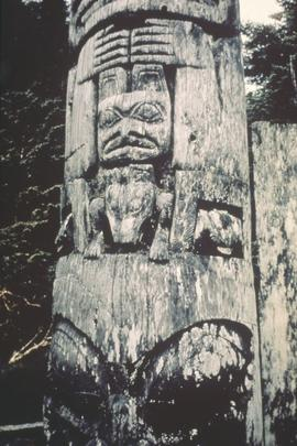 House post, Anthony Island