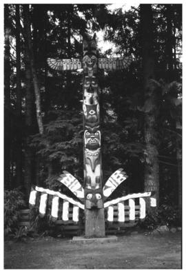 Totem poles at Capilano Suspension Bridge