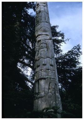 Anthony Island pole, 1957