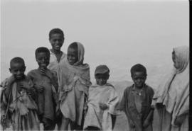Group of boys in shemma cloth