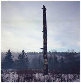 House of Wiiseks/Wiigyet of Gitsegukla Totem Pole