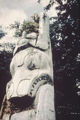 Totem pole, Anthony Island