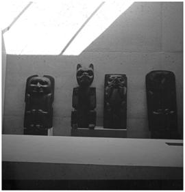 Display Museum of Anthropology, U.B.C., Vancouver