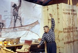 Nootka Canoe drawings and Godfrey Hunt