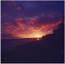 Haida,' Masset [sunset or sunrise]