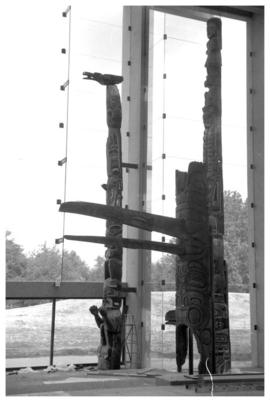 Totem installation at U.B.C.