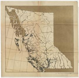 Page 4 - Map depicting BC's Indigenous population distribution in 1835