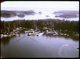 Kyuquot from the air