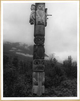 Totem pole with details