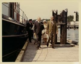 Gov. General and Mrs. Mitchner [sic] visit to Alert Bay