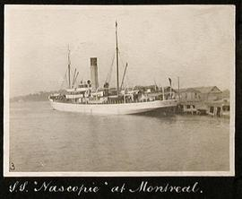 "S.S. ""Nascopie"" at Montreal"