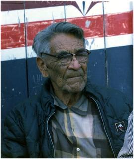 Chief Johnson (90 yrs), Port Hardy BC, Kwakiutl