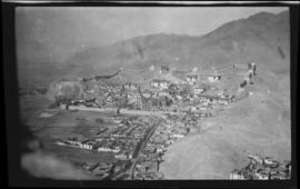 Bird's eye view of Gyantse