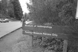 [Museum of Anthropology sign]