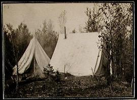 Tents on the Hayes River