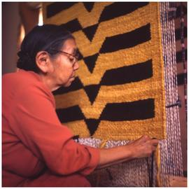 Mary Peters, Blanket weaver
