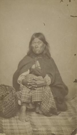 Indian woman, Birds Inlet, B. C.