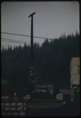 Chief Johnson's pole, Ketchikan, Alaska