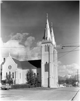 """Mission Church, North Vancouver Reserve"""