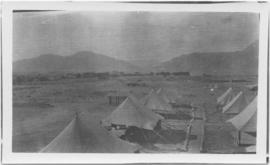 Tents in a field