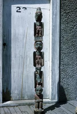 Old pole, artist unknown
