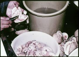 Preparing Clam Chowder