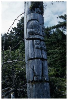 Ninstints 1957 [totem pole]