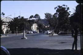 Plaza in a city in northern Ethiopia