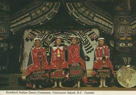 Kwakiutl Indian Dancers
