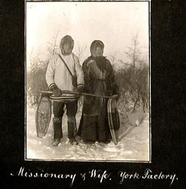 Missionary and Wife, York Factory