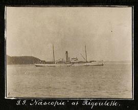 "S.S. ""Nascopie"" at Rigolet"