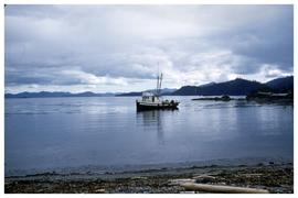 Fishing boat, Haida Gwaii