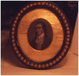 [Framed portrait of unidentified man]