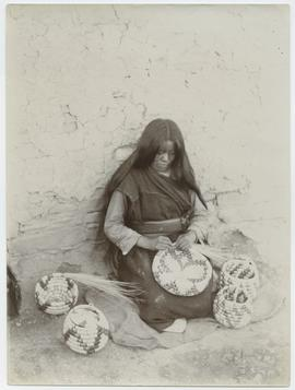 Hopi Basket Maker