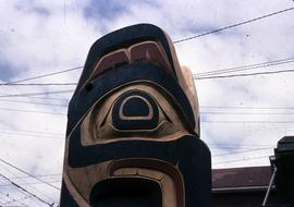 Mosquito Totem Pole, top side view