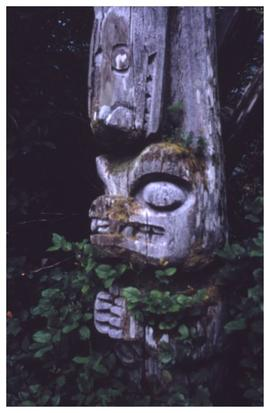 From all over the place [Chiklesaht totem pole]