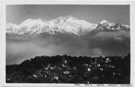 Everest from Nepal as viewed from [Parker's hotel]