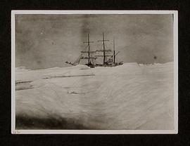 "H.B.C. Chartered Vessel ""Sorine"" in the Ice. Hudson's Straits and Hudson's Bay. July an..."