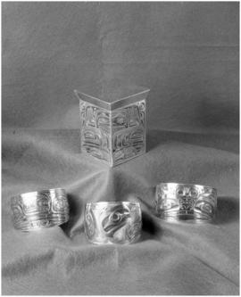 Robert Davidson [Jr.], silver work