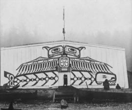 Chief's house - Sea Monster and Whale