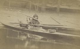 Abraham in kayak