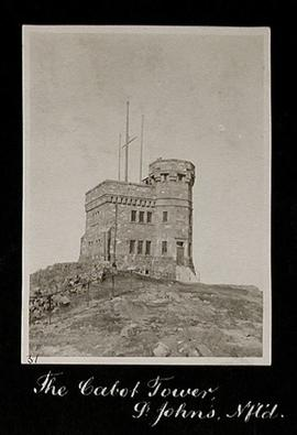 The Cabot Tower, St. John's, Newfoundland