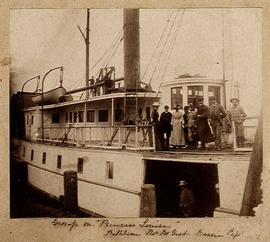 "Group on ""Princess Louise"""