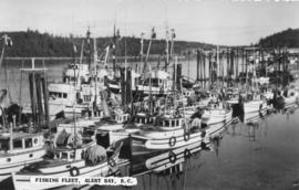 Fishing Fleet, Alert Bay, B. C.